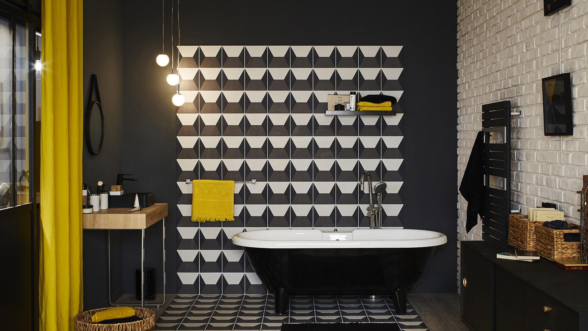 Déco Salle de bains Graphique